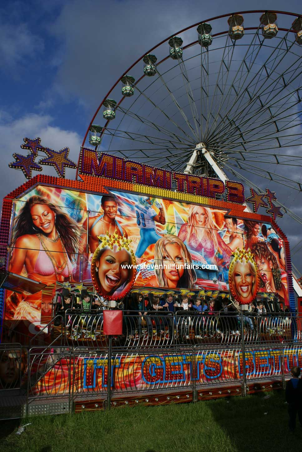 Miami Funfair ride