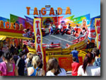 A fun-packed ride that bounces up and down and from side to side while it spins. Particularly popular with teenagers, great spectator appeal. Approx 50ft x 50ft footprint, 40-seat capacity.